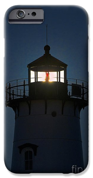Edgartown Lighthouse iPhone Case by John Greim