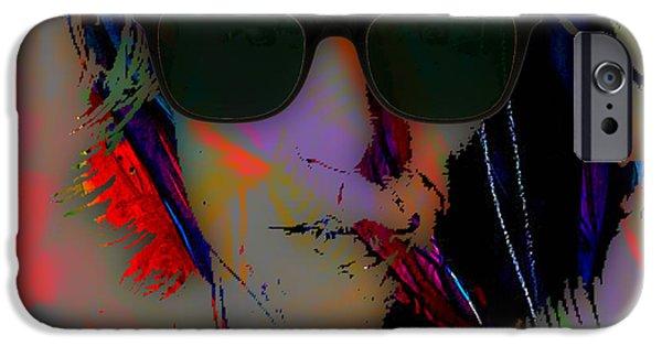 Celebrities iPhone Cases - Jon Bon Jovi Collection iPhone Case by Marvin Blaine