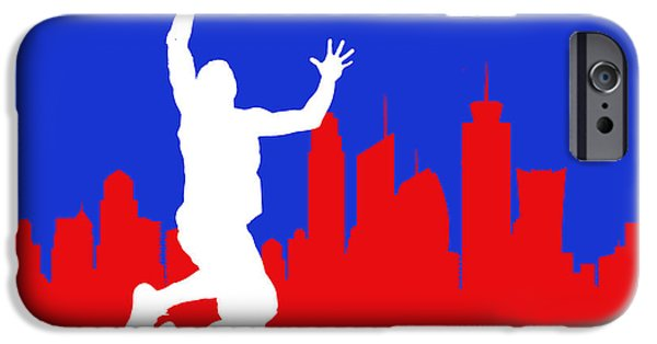 Blake iPhone Cases - Los Angeles Clippers iPhone Case by Joe Hamilton