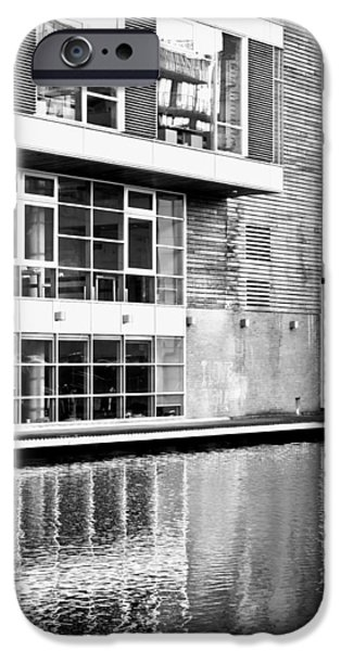 Ledge iPhone Cases - Modern building iPhone Case by Tom Gowanlock