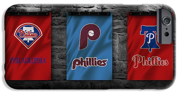 Baseball. Philadelphia Phillies iPhone Cases - Philadelphia Phillies iPhone Case by Joe Hamilton