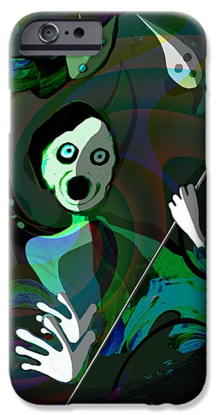 The Scream iPhone Cases - 1122 - Fear ...  the scream iPhone Case by Irmgard Schoendorf Welch