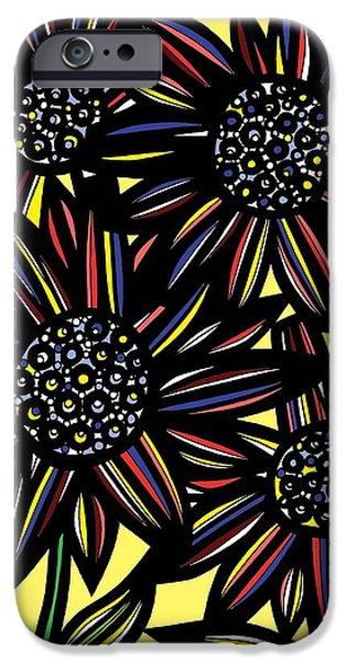 Zeus iPhone Cases - Zeus Sadness Black and White iPhone Case by Eddie Alfaro