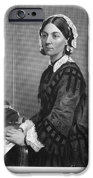 FLORENCE NIGHTINGALE iPhone Case by Granger