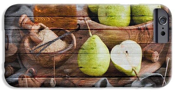 Tangerine iPhone Cases - Fruit iPhone Case by Joe Hamilton