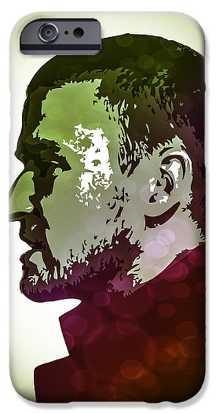 Justin Timberlake iPhone Cases - Justin Timberlake iPhone Case by Shelby Claire