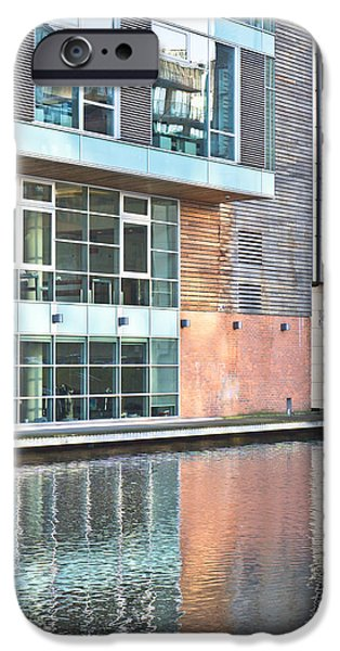 Finance iPhone Cases - Modern building iPhone Case by Tom Gowanlock