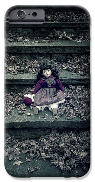 Dolls iPhone Cases - Old Doll iPhone Case by Joana Kruse