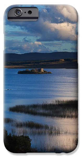 Antiquated iPhone Cases - 12 Th Century Norman Hens Castle iPhone Case by Panoramic Images