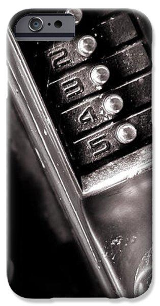 12345 iPhone Case by Bob Orsillo