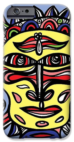Graphic Design iPhone Cases - Petrichor Abstract Black and White iPhone Case by Eddie Alfaro