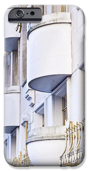 Ledge Photographs iPhone Cases - Balconies iPhone Case by Tom Gowanlock