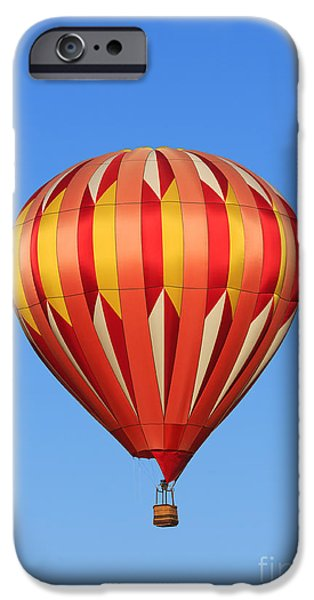 Flight iPhone Cases - Hot air balloon iPhone Case by Mariusz Blach