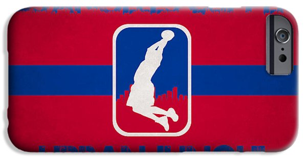 Nba iPhone Cases - Los Angeles Clippers iPhone Case by Joe Hamilton