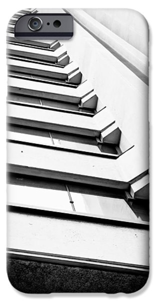 Concrete Jungle iPhone Cases - Modern building iPhone Case by Tom Gowanlock