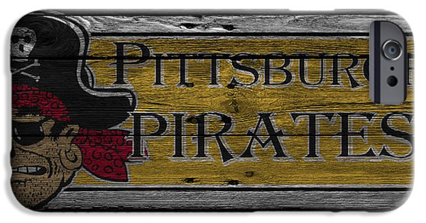 Pirate iPhone Cases - Pittsburgh Pirates iPhone Case by Joe Hamilton