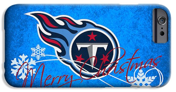 Sports Photographs iPhone Cases - Tennessee Titans iPhone Case by Joe Hamilton