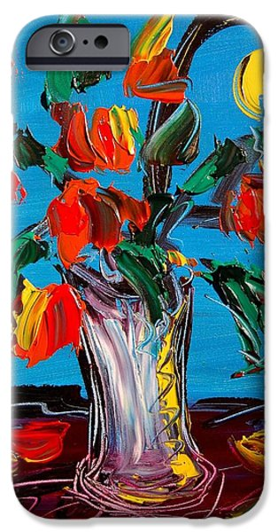 The White House Photographs iPhone Cases - Flowers iPhone Case by Mark Kazav