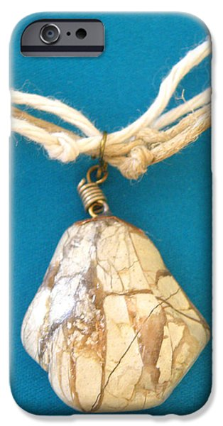Aphrodite Urania Necklace iPhone Case by Augusta Stylianou