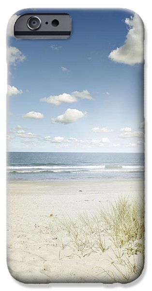 Copy iPhone Cases - Beach iPhone Case by Les Cunliffe