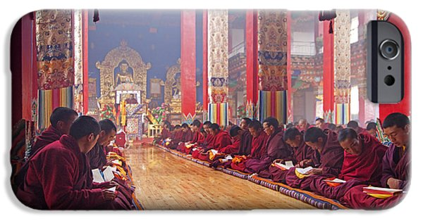 Tibetan Buddhism iPhone Cases - 141220p194 iPhone Case by Arterra Picture Library