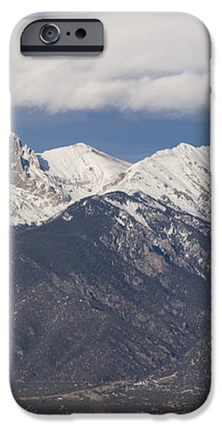 14er Panorama iPhone Case by Aaron Spong