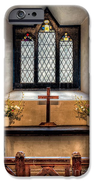 Ledge iPhone Cases - 14th Century Chapel iPhone Case by Adrian Evans