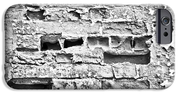 Structural iPhone Cases - Brick wall iPhone Case by Tom Gowanlock