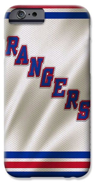 Recently Sold -  - Winter iPhone Cases - New York Rangers iPhone Case by Joe Hamilton