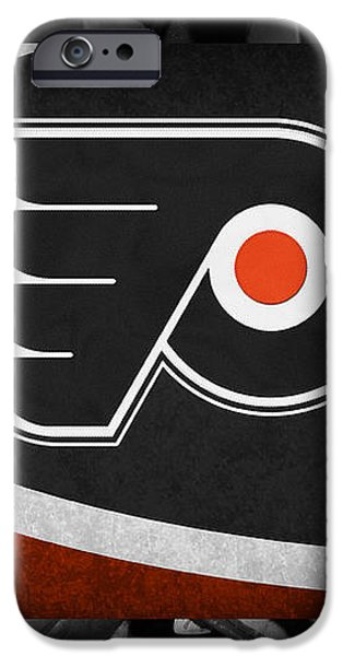 PHILADELPHIA FLYERS iPhone Case by Joe Hamilton