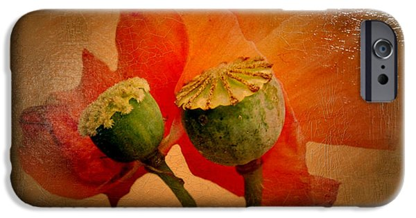 Esp iPhone Cases - Poppy iPhone Case by Heike Hultsch
