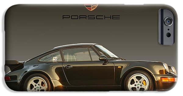 Michelin iPhone Cases - Porsche 911 3.2 Carrera 964 Turbo iPhone Case by Ganesh Krishnan