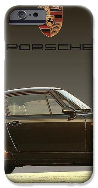 Porsche 911 3.2 Carrera 964 Turbo iPhone Case by Ganesh Krishnan