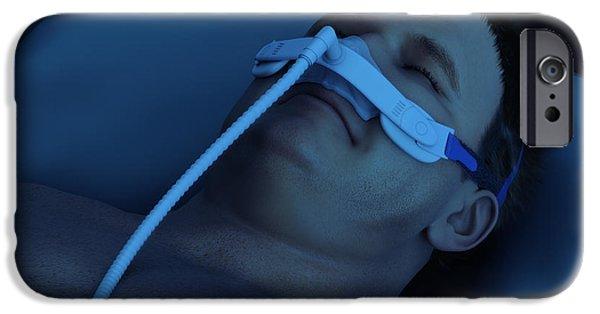 Apnea Photographs iPhone Cases - Sleep Apnea iPhone Case by Science Picture Co