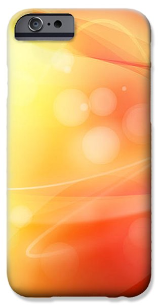 Abstract background. iPhone Case by Les Cunliffe