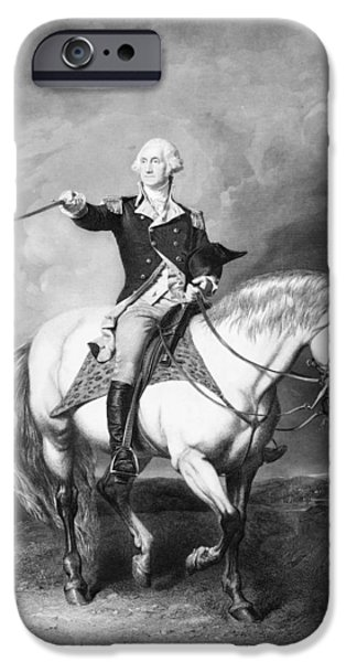 President iPhone Cases - George Washington iPhone Case by Granger