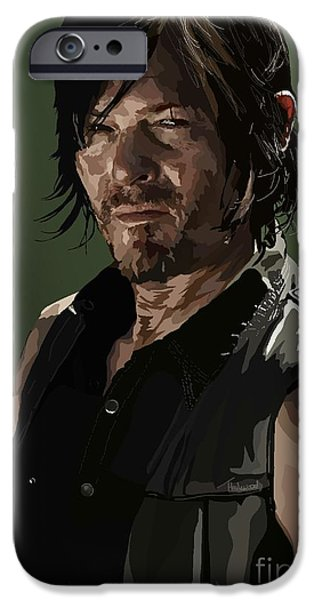 Dixon iPhone Cases - 156.  Only got so many arrows. iPhone Case by Tam Hazlewood