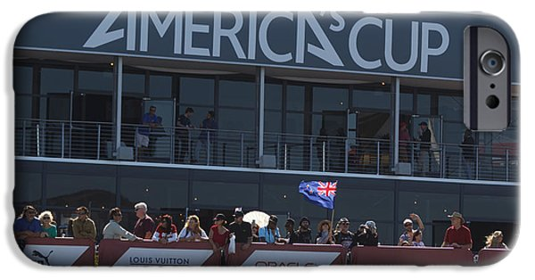 Applaud iPhone Cases - Americas Cup San Francisco Bay iPhone Case by Jason O Watson