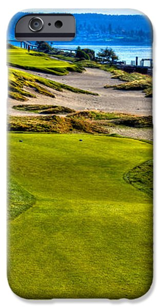 #16 at Chambers Bay Golf Course - Location of the 2015 U.S. Open Championship iPhone Case by David Patterson