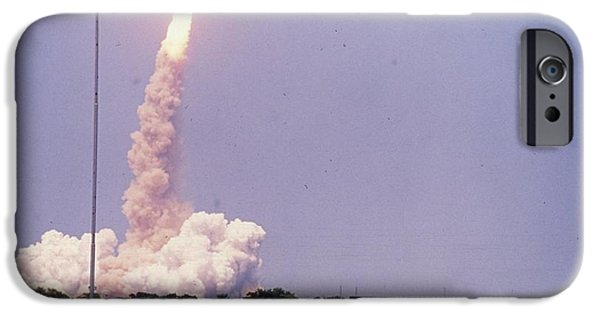 Archives iPhone Cases - Space Shuttle Challenger  iPhone Case by Retro Images Archive