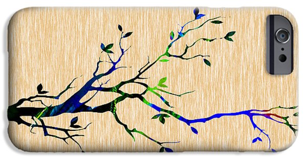 Branch iPhone Cases - Tree Branch Collection iPhone Case by Marvin Blaine