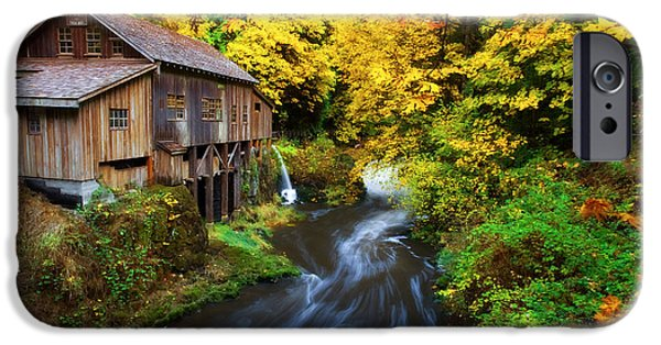 Grist Mill iPhone Cases - 1600 iPhone Case by Darren  White