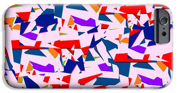 Modern Abstract iPhone Cases - 1633 Abstract Thought iPhone Case by Chowdary V Arikatla