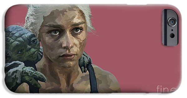 War iPhone Cases - 164. The last of the dragons you will be iPhone Case by Tam Hazlewood