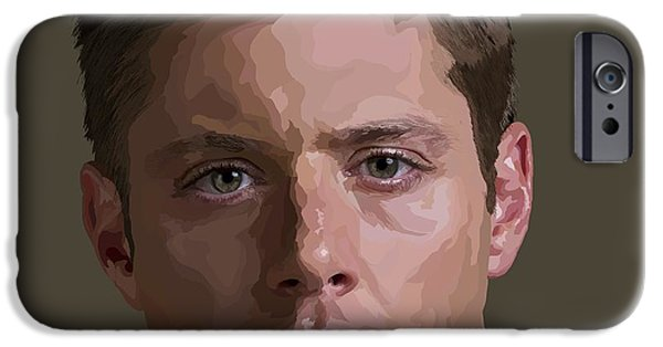 Supernatural Digital Art iPhone Cases - 167. Apple Pie iPhone Case by Tamify