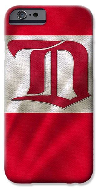 Detroit Red Wings iPhone Cases - Detroit Red Wings iPhone Case by Joe Hamilton