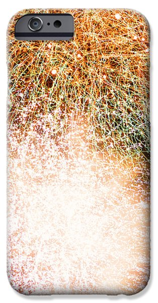 4th July Photographs iPhone Cases - A Canvas of Color iPhone Case by Yohei Koinuma