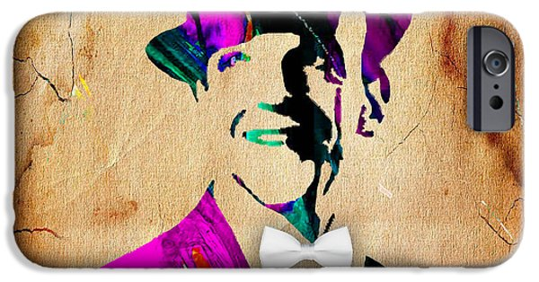 Retro iPhone Cases - Fred Astaire Collection iPhone Case by Marvin Blaine