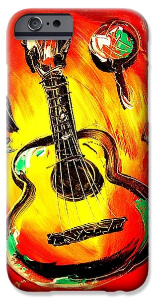GUITAR iPhone Case by Mark Kazav