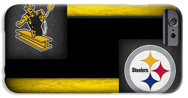 Steelers iPhone Cases - Pittsburgh Steelers iPhone Case by Joe Hamilton